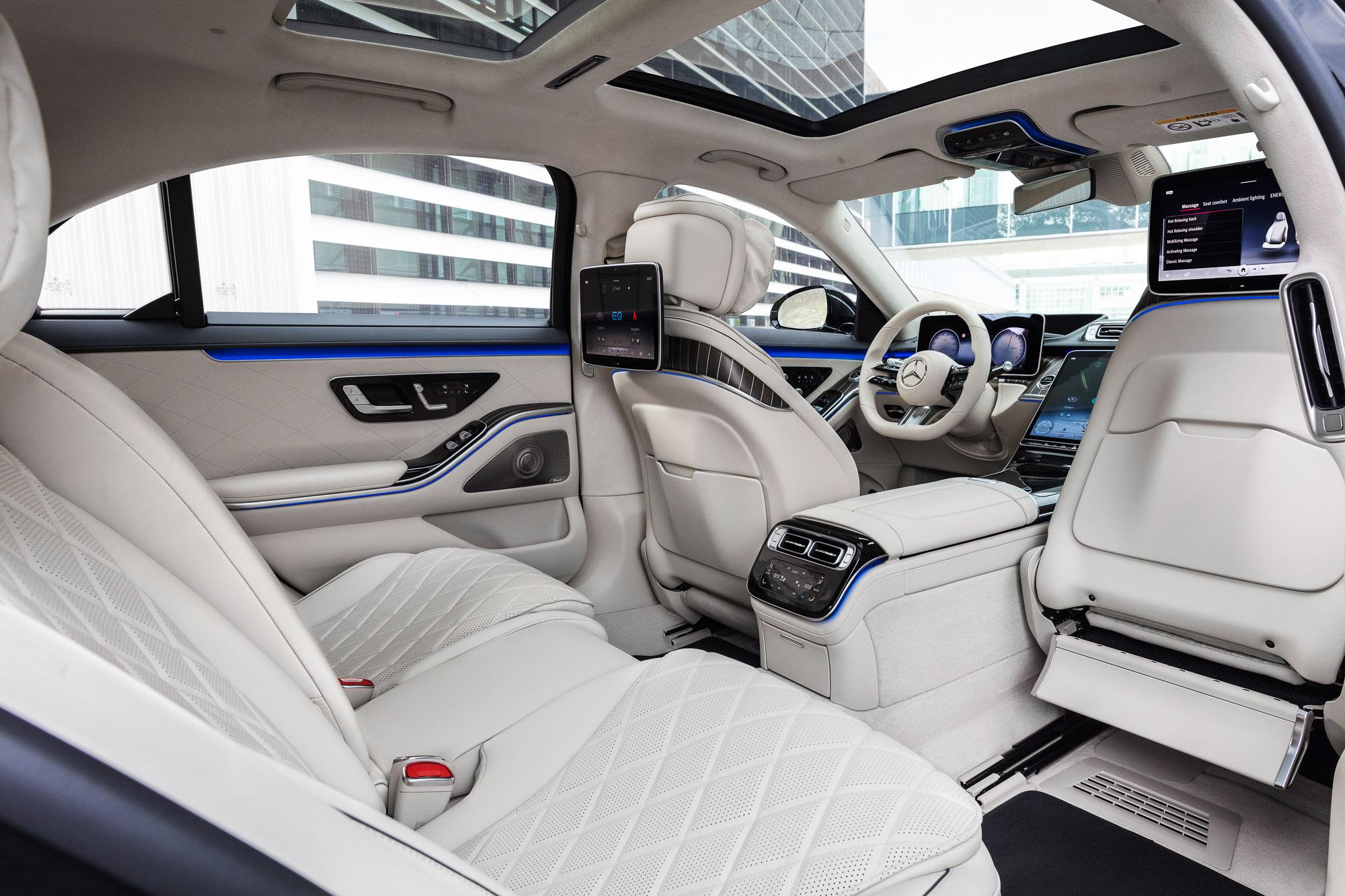 """Mercedes Klasy S W223 to naprawdę """"nowa jakość gwiazdy ..."""